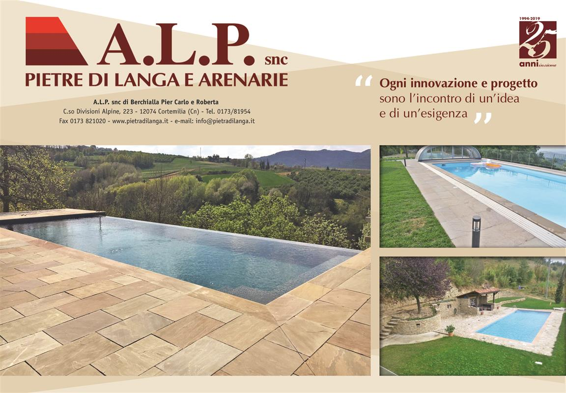 Last swimming pools with natural stone